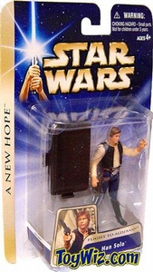 Star Wars Saga 2004 A New Hope Han Solo [Flight To Alderaan]