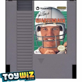 Nintendo Entertainment System NES Played Cartridge Game John Elway's Quarterback