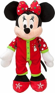 Disney Exclusive 18 Inch Deluxe 2011 Plush Share the Magic Holiday Pajamas Minnie Mouse