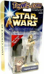 Star Wars Saga 2004 A New Hope #15 Fan's Choice #05 Captain Antilles [Tantive IV Invasion]