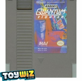 Nintendo Entertainment System NES Played Cartridge Game Kabuki: Quantum Fighter