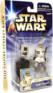 Star Wars Saga 2004 Empire Strikes Back Action Figure #01 Hoth Trooper [Hoth Evacuation]