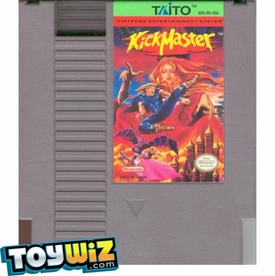 Nintendo Entertainment System NES Played Cartridge Game Kick Master