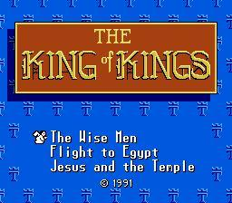 Nintendo Entertainment System NES Played Cartridge Game King of Kings: The Early Years