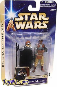 Star Wars Saga 2004 Return Of The Jedi #07 Lando Calrissian [Jabba's Sail Barge]