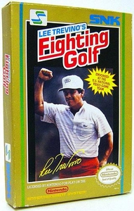 Nintendo Entertainment System NES Complete Opened Cartridge Games Lee Trevino's Fighting Golf
