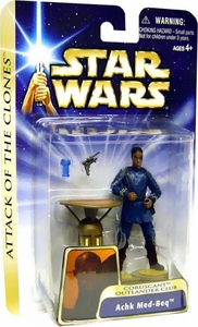 Star Wars Saga 2004 Attack of the Clones #37 Achk Med-Beq [Coruscant Outlander Club]