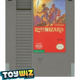 Nintendo Entertainment System NES Played Cartridge Game Legacy of the Wizard