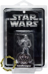 Star Wars Saga 2004 Exclusive Silver Sandtrooper