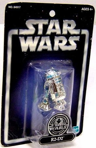 Star Wars Saga 2002 Exclusive Silver Anniversary R2-D2