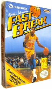 Nintendo Entertainment System NES Factory Sealed Cartridge Game Magic Johnson's Fast Break