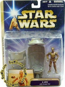 Star Wars Saga 2004 A New Hope C-3PO [Escape Pod]