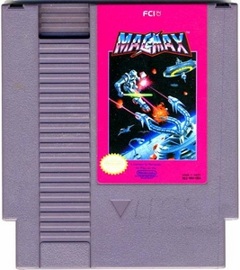 Nintendo Entertainment System NES Played Cartridge Game Mag Max