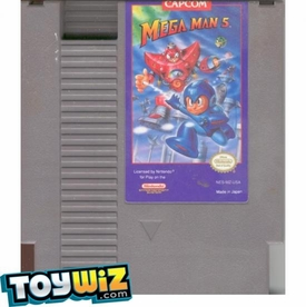 Nintendo Entertainment System NES Played Cartridge Game Mega Man 5
