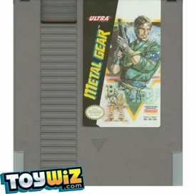 Nintendo Entertainment System NES Played Cartridge Game Metal Gear