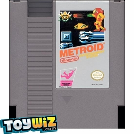 Nintendo Entertainment System NES Played Cartridge Game Metroid
