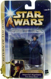 Star Wars Saga 2004 Imperial Dignitary Kren Blista-Vanee BLOWOUT SALE!