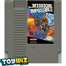 Nintendo Entertainment System NES Played Cartridge Game Mission: Impossible