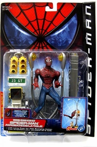 Spider-Man Movie ToyBiz Action Figure Web Swinging Spider-Man