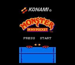 Nintendo Entertainment System NES Played Cartridge Game Monster In My Pocket