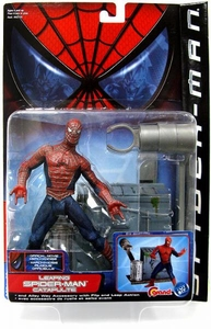 Spider-Man Movie ToyBiz Action Figure Leaping Spider-Man