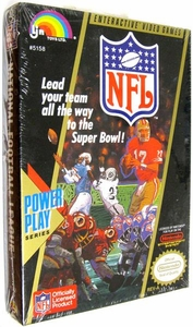 Nintendo Entertainment System NES Factory Sealed Cartridge Game NFL Football
