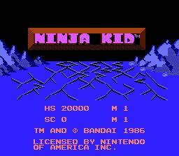 Nintendo Entertainment System NES Played Cartridge Game Ninja Kid