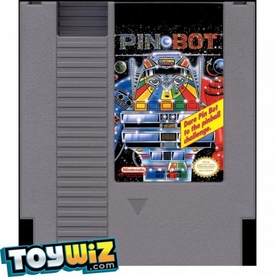 Nintendo Entertainment System NES Played Cartridge Game Pin-Bot with Instructions