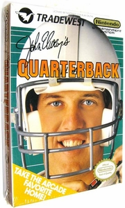 Nintendo Entertainment System NES Factory Sealed Cartridge Game John Elway's Quarterback