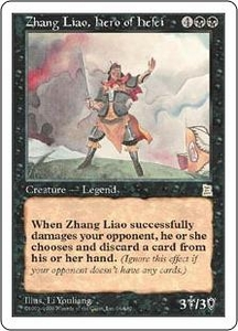 Magic the Gathering Portal Three Kingdoms Single Card Rare #96 Zhang Liao, Hero of Hefei