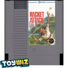 Nintendo Entertainment System NES Played Cartridge Game Racket Attack