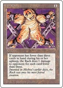 Magic the Gathering Revised Edition Single Card Uncommon The Rack