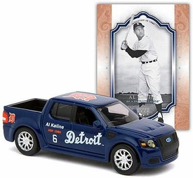 Detroit Tigers Upper Hall of Fame Series Diecast Ford Truck with David Wright Card