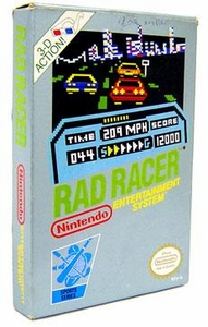 Nintendo Entertainment System NES Complete Opened Cartridge Games Rad Racer
