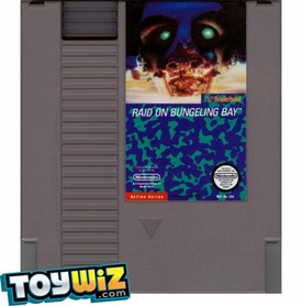 Nintendo Entertainment System NES Played Cartridge Game Raid on Bungeling Bay