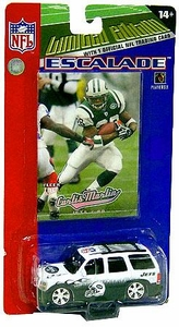 New York Jets Upper Deck Limited Edition Diecast NY Jets Escalade with Curtis Martin Card