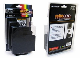 Retrobit NES 3 Pack Retro Case Cartridge Protectors [For NES Games]