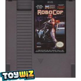 Nintendo Entertainment System NES Played Cartridge Game RoboCop with Instructions