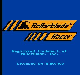Nintendo Entertainment System NES Played Cartridge Game Rollerblade Racer