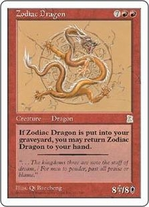 Magic the Gathering Portal Three Kingdoms Single Card Rare #131 Zodiac Dragon