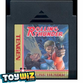 Nintendo Entertainment System NES Played Cartridge Game Rolling Thunder