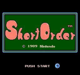 Nintendo Entertainment System NES Played Cartridge Game Short Order/Eggsplode