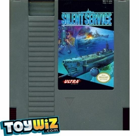 Nintendo Entertainment System NES Played Cartridge Game Silent Service