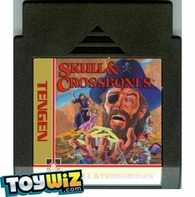 Nintendo Entertainment System NES Played Cartridge Game Skull & Crossbones