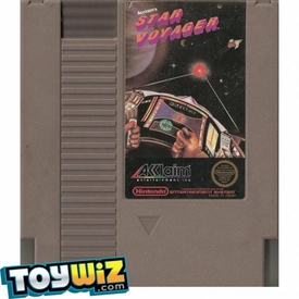 Nintendo Entertainment System NES Played Cartridge Game Star Voyager