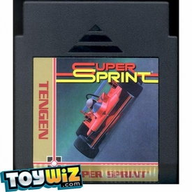 Nintendo Entertainment System NES Played Cartridge Game Super Sprint