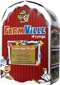 FarmVille Zynga Winter Series Collectible Mini Plush Mystery Pack BLOWOUT SALE!