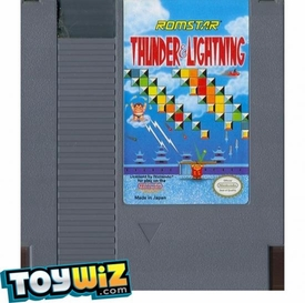 Nintendo Entertainment System NES Played Cartridge Game Thunder & Lightning