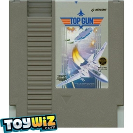 Nintendo Entertainment System NES Played Cartridge Game Top Gun