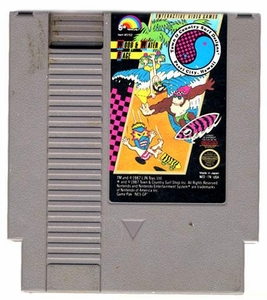Nintendo Entertainment System NES Played Cartridge Game Town & Country Surf Designs: Wood & Water Rage